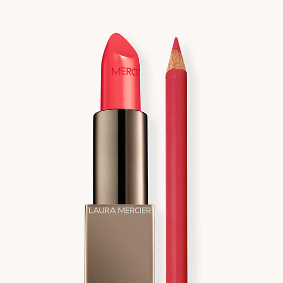 Rouge Essentiel L'Orange + Longwear Lip Liner Grapefruit