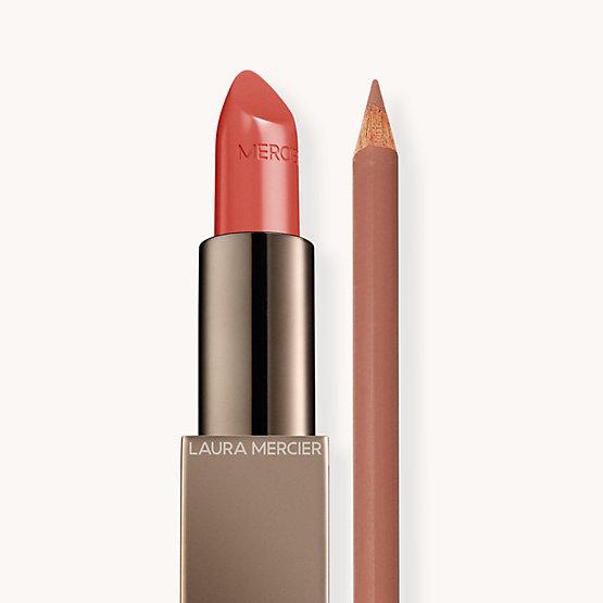 Rouge Essentiel Nu Préféré + Longwear Lip Liner Rosewood