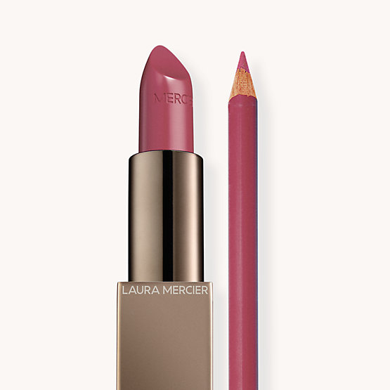 Rouge Essentiel Rose Mauve + Longwear Lip Liner Macaron