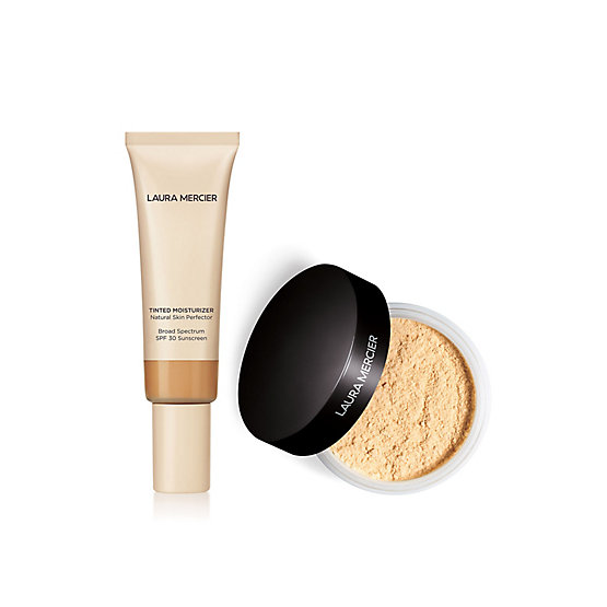 Tinted Moisturizer and Translucent Loose Setting Powder Duo